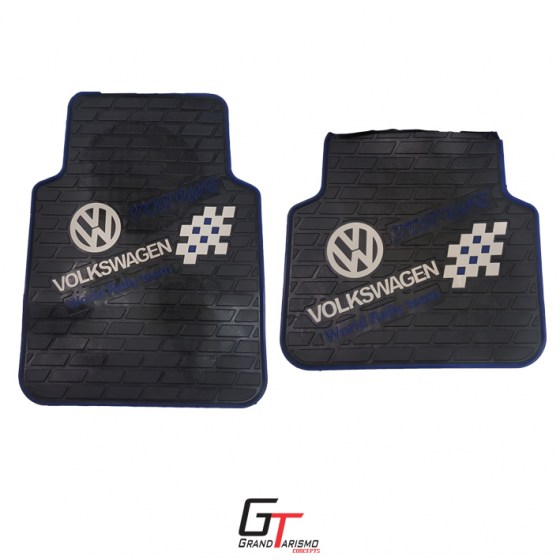 A VW Rubber Mats 4PC R399 Front and rear