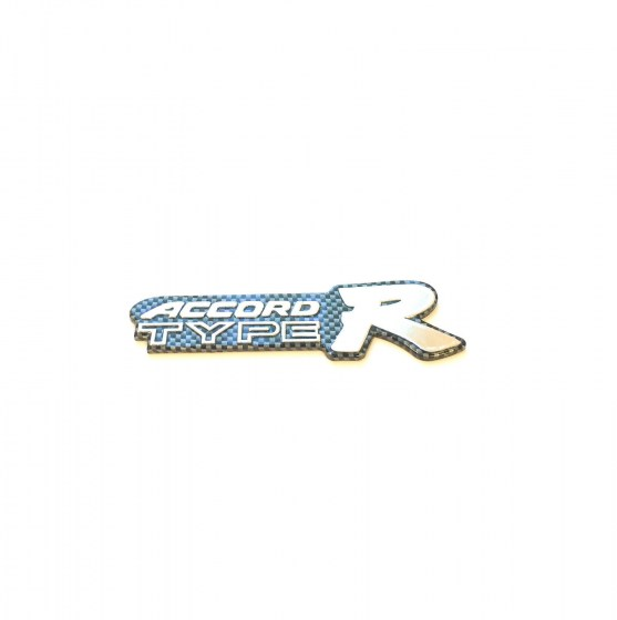Accord Type-R Carbon Fibre Badge R99