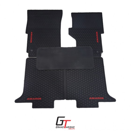 Amarok 10+ Rubber Mats 5PC R699