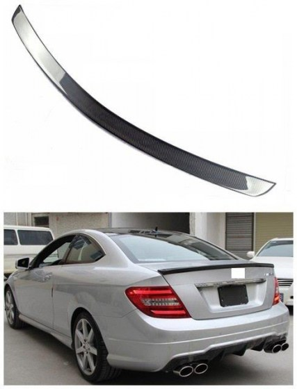 BE-001 MB W204 Carbon Fibre look Boot Spoiler R799