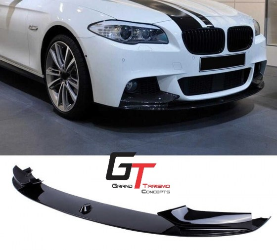 BMW F10 MP Plastic Front Lip Gloss Black