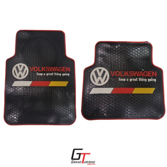 C VW Rubber Mats 4PC R399 front and rear