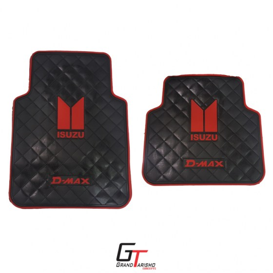 D-Max Rubber Mats 4PC R399 front and rear