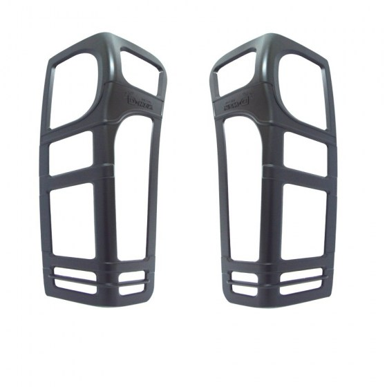 D-Max Taillight Covers Matte Black R349