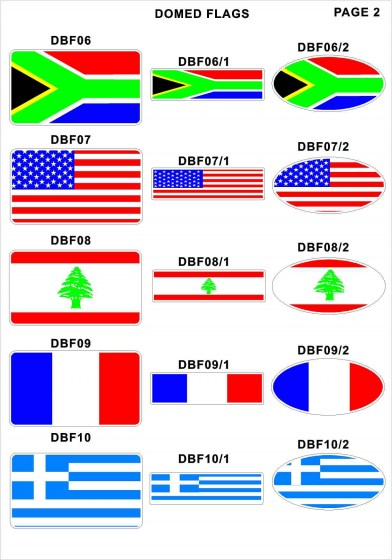 Domed Flags2