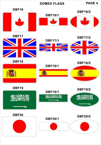 Domed Flags5
