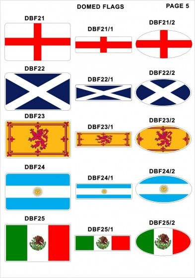 Domed Flags6