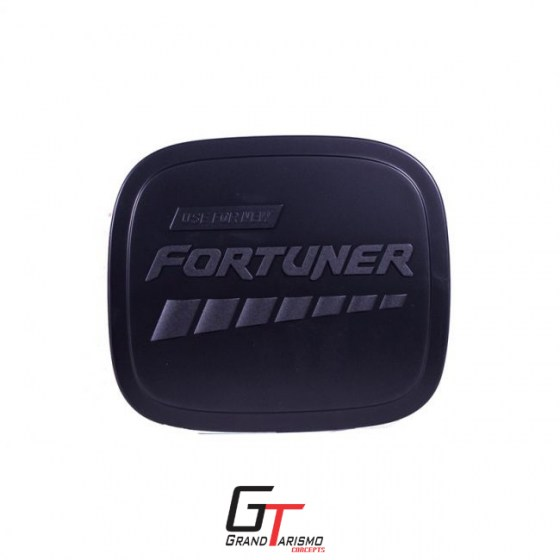 Fortuner Fuel Cap Cover Matte Black 16+ R199