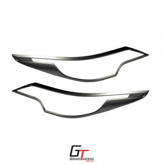 Fortuner Head Light Trim Matte Black 16+ R399