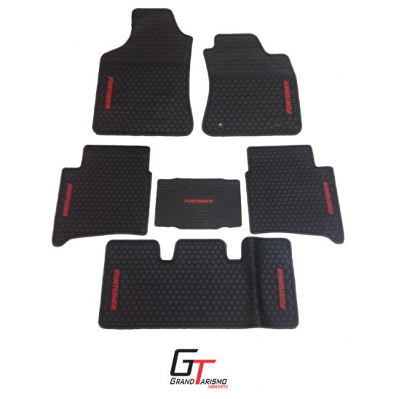 Fortuner rubber mats