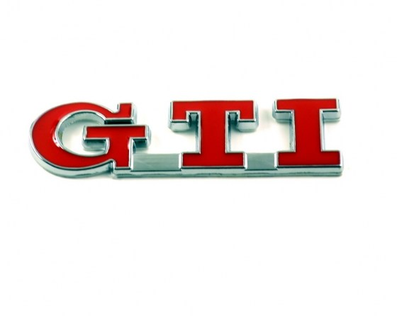 GTi Badge Red R99