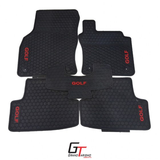 Golf 7 Rubber Mats 5PC R499