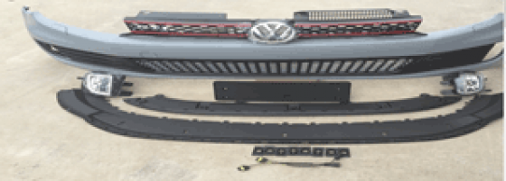 Golf-6-GTi-FBumper-set