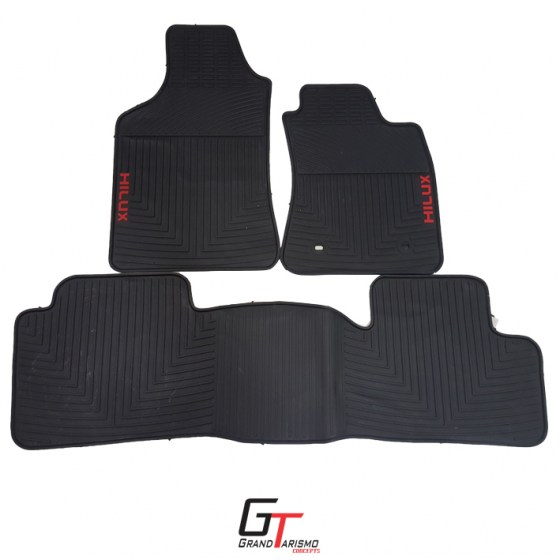 Hilux 05+ Rubber Mats 3PC R699