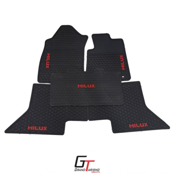 Hilux 16+ Rubber Mats 5PC R699