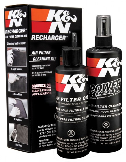 K&N Air Filter Cleaning Kit