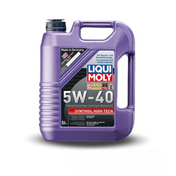 Liqui Moly Synthoil High Tech 5W-40 5lt