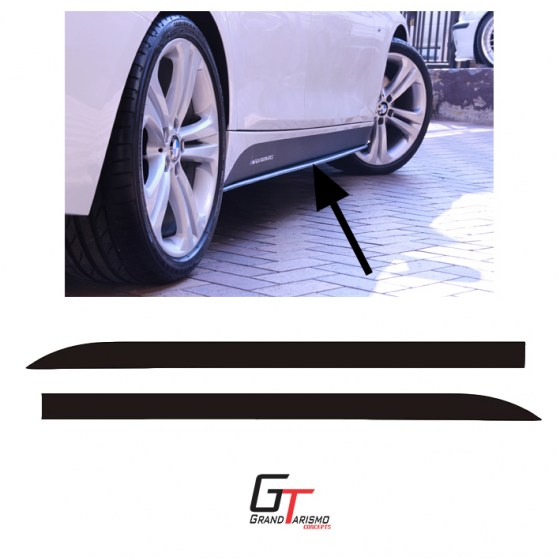 M Performance side skirt stckers3