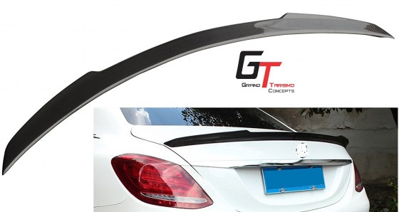 MB W205 V-Style Carbon Fibre Boot Spoiler.pd5