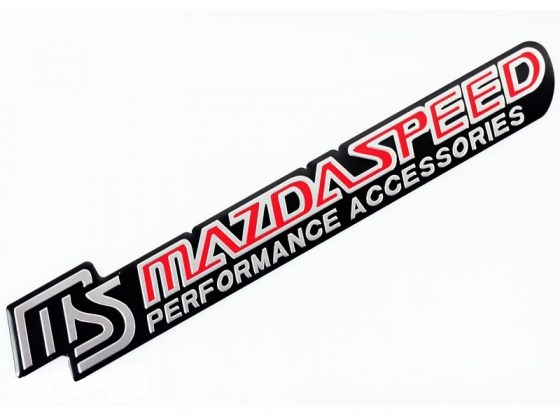 MS Mazdaspeed Performance Accessories Badge R99
