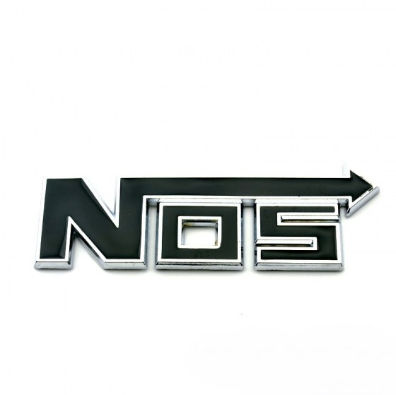 NOS Badge Black R99