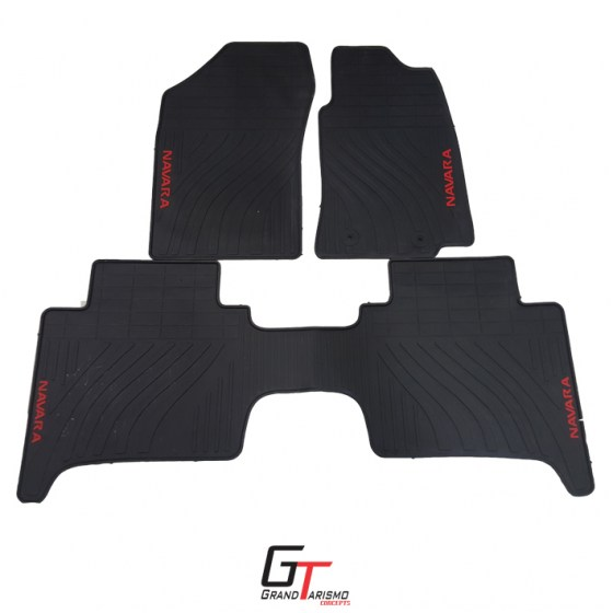 Navara 17+ Rubber Mats 3PC R699