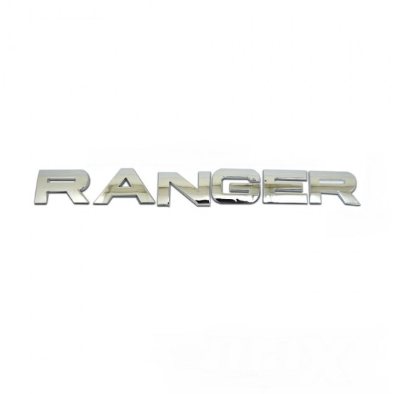 Ranger Badge Chrome R169
