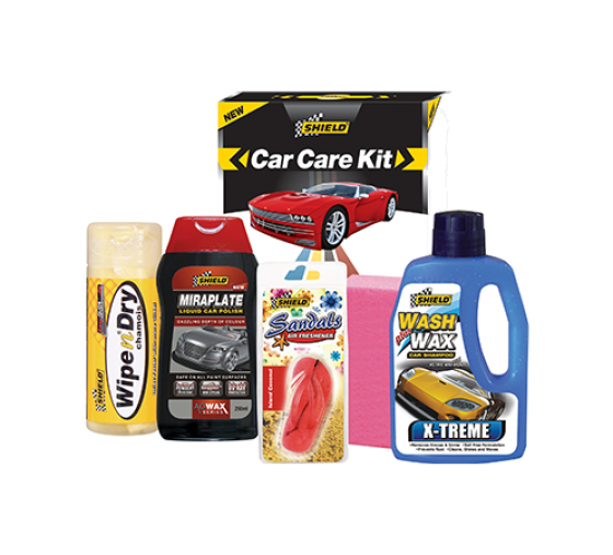 Shield Car Care Kit 5pc SH46