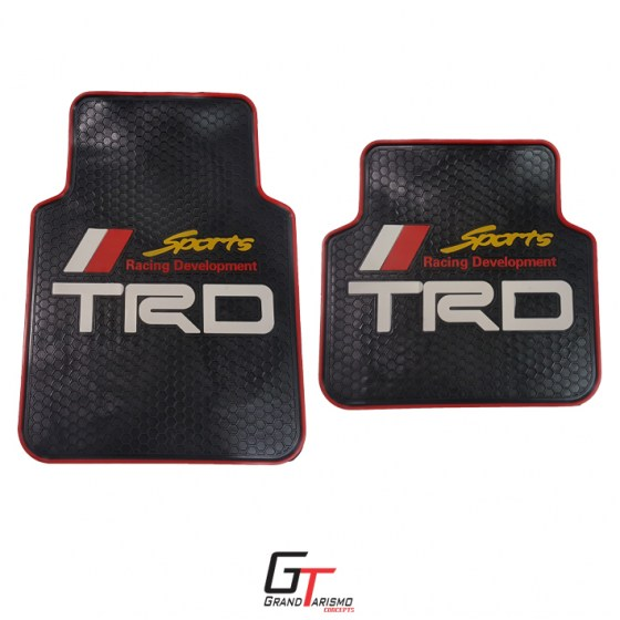 TRD Rubber Mats 4PC R399 Rear and front