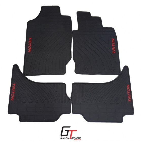 Triton 17+ Rubber Mats 4PC R699