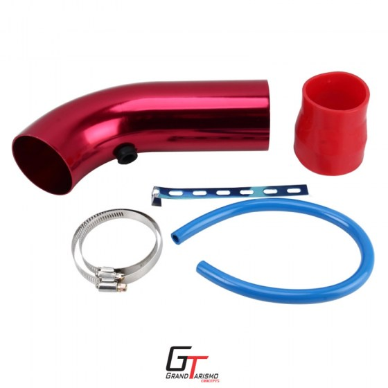 Universal Intake Pipe Short Red R249