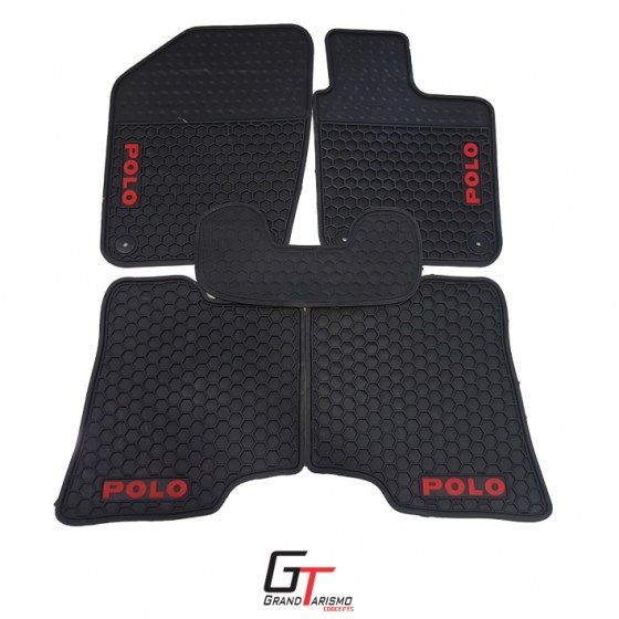 VW Polo 6 10+ Rubber Mats 5PC R499
